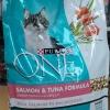 Purina One Adult Salmon and Tuna เพียวริน่าวันแมวโต สูตรปลาแซลมอน และปลาทูน่า 3kg. 665รวมส่ง