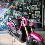 zoomer x 2014 สีชมพู