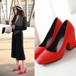 Preorder รองเท้าแฟชั่น สไตล์เกาหลี 33-43 รหัส 9DA-4735