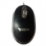 USB Optical Mouse G-TECH (GT1001) สีดำ