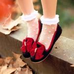 Preorder รองเท้าแฟชั่น รองเท้าผู้หญิง รองเท้าส้นเตี้ย 34-43 รหัส 9DA-2424