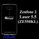 เคส Zenfone 2 Laser 5.5 (ZE550KL) ซิลิโคน สีใส