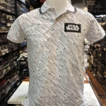 สตาร์วอร์ เสื้อโปโล-คอปก สีขาว (POLO Starwars white)