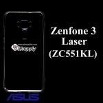 เคส Zenfone3 Laser (ZC551KL) ซิลิโคน สีใส