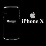 เคส iPhone X ซิลิโคน สีใส