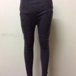 กางเกงคนท้องขายาว สีเทา