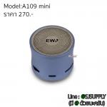 ลำโพงบลูทูธ EWA A109 mini สีฟ้าคราม