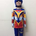 ชุดอุลตร้าแมน เมบิอุส (Ultraman Mebius) เด็ก สีน้ำเงิน