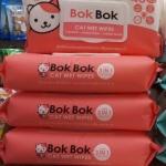 Bok Bok ทิชชูเปียก เช็ดทั้งตัว สำหรับแมว 4ห่อ 720รวมส่ง