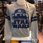 สตาร์วอร์ แขนยาว (R2 gray)
