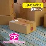 กล่อง ปณ B ขนาด 17.0 x 25.0 x 9.0 ซม.