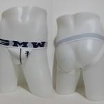 GMW Jockstraps Underwear สีขาว