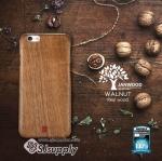 เคส iPhone6/6s Janwood (Walnut) - REMAX