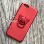 เคส iPhone 5/5s/SE เพชรล้อมแหวนหมี สีแดง BKK