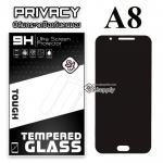 ฟิล์มกระจก Samsung A8/A8(2016) Privacy (ฟิล์มกันเสือก)