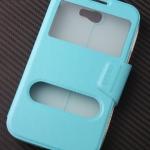 เคสฝาพับซัมซุง Core Prime สีฟ้า