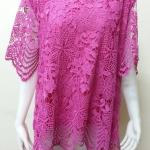 เสื้อผ้าลูกไม้ สีชมพู By Butterfly