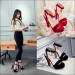 Preorder รองเท้าแฟชั่น สไตล์เกาหลี 33-43 รหัส 55-8464