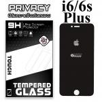 ฟิล์มกระจก iPhone6/6s Plus (Privacy) (ฟิล์มกันเสือก)