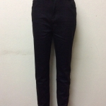 กางเกงยีนส์ฮ่องกงทรงเดฟ สีดำ Size 36 Code#9918