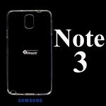 เคส Samsung Note3 ซิลิโคน สีใส