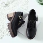 พร้อมส่ง รองเท้าแฟชั่น สีดำ ไซส 39 รหัส PP-55-4683