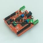 Dual Step motor driver shield for Arduino