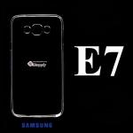 เคส Samsung E7 ซิลิโคน สีใส