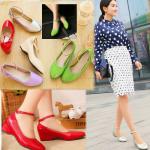Preorder รองเท้าแฟชั่น สไตล์เกาหลี 34-43 รหัส 9DA-1321