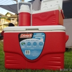 Coleman 36Q Combo Cooler #Red
