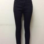 กางเกงยีนส์ฮ่องกงทรงเดฟ สีดำ Code#D865