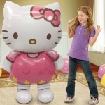 New large size Cat Hello Kitty balloon foil cartoon birthday decoration wedding party Must Haves inflatable air Classic toys