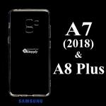 เคส Samsung A8 Plus ซิลิโคน สีใส