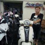 (( ขายแล้ว )) Grand filano 125 cc.สีขาว พิมนิยม ขอบคุณพี่ไก่ ที่มาอุดหนุนครับ
