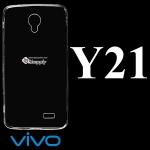 เคสซิลิโคน Vivo Y21 สีใส