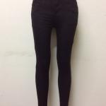 กางเกงยีนส์ฮ่องกงทรงเดฟ สีดำ Code#9921
