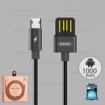 สายชาร์จ REMAX Micro USB RC-080m สีดำ