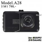 กล้องติดหน้ารถยนต์ Telecorsa A28