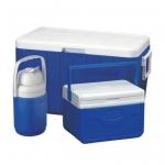 Coleman 48Q Combo Cooler #BLUE