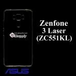 เคสซิลิโคน Zenfone 3 Laser (ZC551KL) สีใส