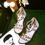 Preorder รองเท้าส้นเตี้ย 34-43 รหัส 9DA-6334