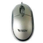 USB Optical Mouse G-TECH (GT1001) สีเงิน
