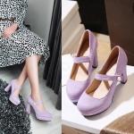 Preorder รองเท้าแฟชั่น สไตล์เกาหลี 34-43 รหัส 9DA-8286