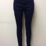 กางเกงยีนส์ฮ่องกงทรงเดฟ สีกรม Size 34 Code#229