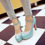 Preorder รองเท้าแฟชั่น สไตล์เกาหลี 34-43 รหัส 55-9677