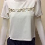 เสื้อคอกลม สีขาว CHOEGO by PK