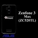 เคส Zenfone3 Max (ZC520TL) ซิลิโคน สีใส