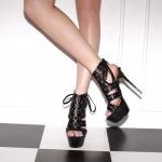 พร้อมส่ง รองเท้าแฟชั่น รุ่นสุดฮิต สีดำ ไซส์ 35 รหัส PP-HZ-6856