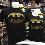 แบทแมน สีดำ (Batman Circle Logo Gold)