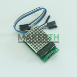 LED MATRIX 8X8 WITH MAX7219 DRIVER